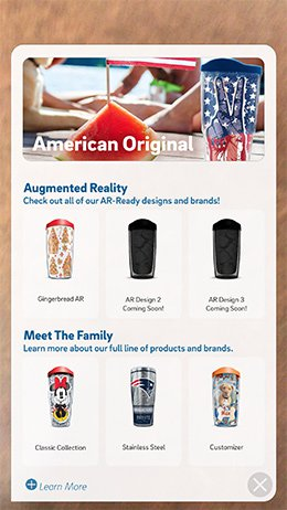 Augmented Reality App Brings Your Tumbler To Life 2 tervis ar 2