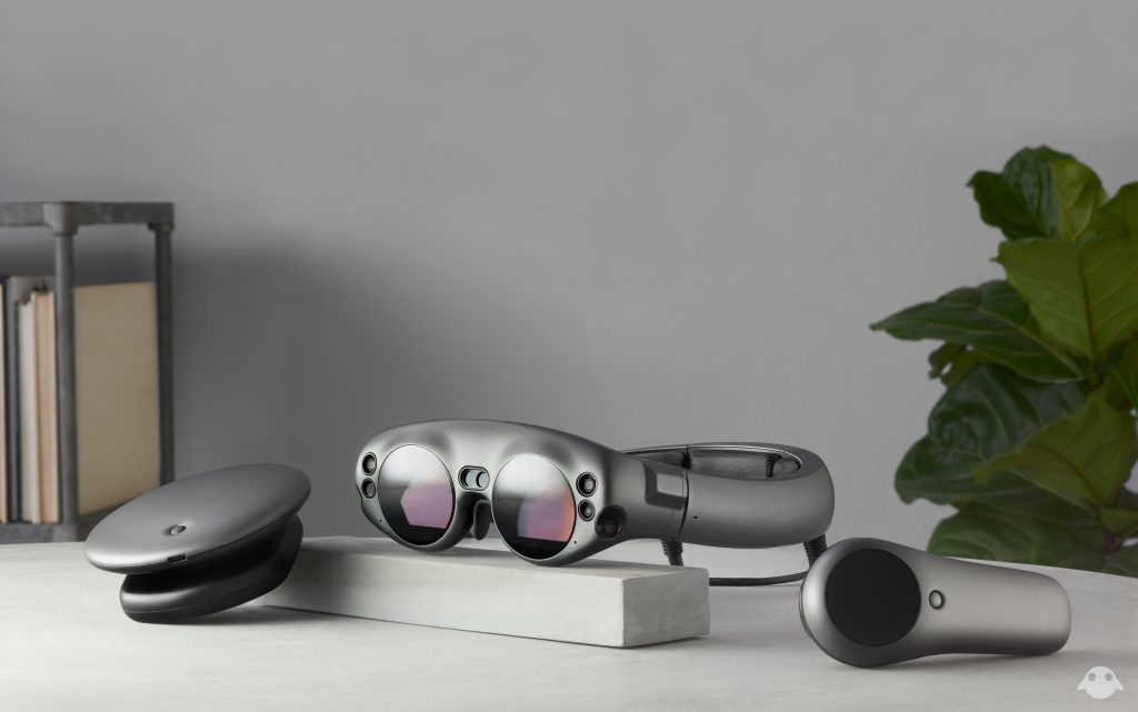 Magic Leap virtual reality