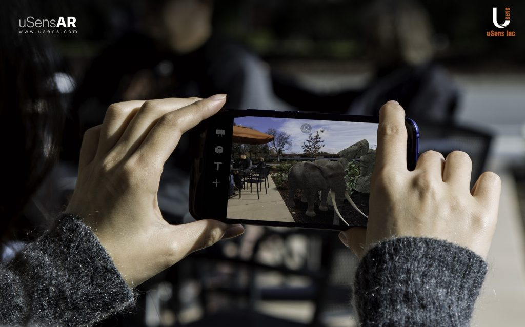Beta Version of uSensAR Offers Game Developer the First Augmented Reality Platform for Low-Tier Smartphones 2 uSensAR 3