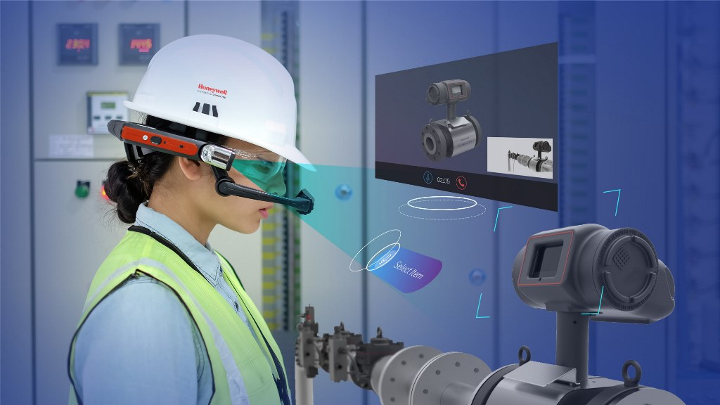 Honeywell Connected Plant–Augmented Reality Wearables for Field Workers