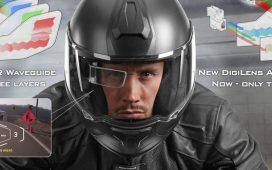 DigiLens Prepares to Launch Thinner Augmented Reality Display for Smart Helmets