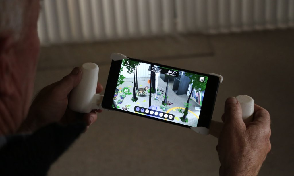 NZ Fauna AR: The Augmented Reality Game that Helps Stroke Patients Regain Mobility