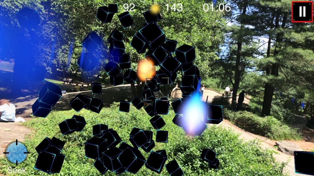 Having a blast: Immersive Augmented Reality Fun On-the-Go with ARBlast