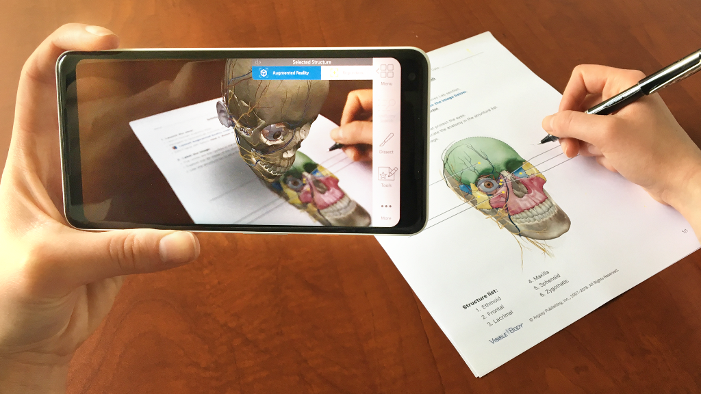 Going Inside of Your Body with The Human Anatomy Atlas AR app 1 unnamed