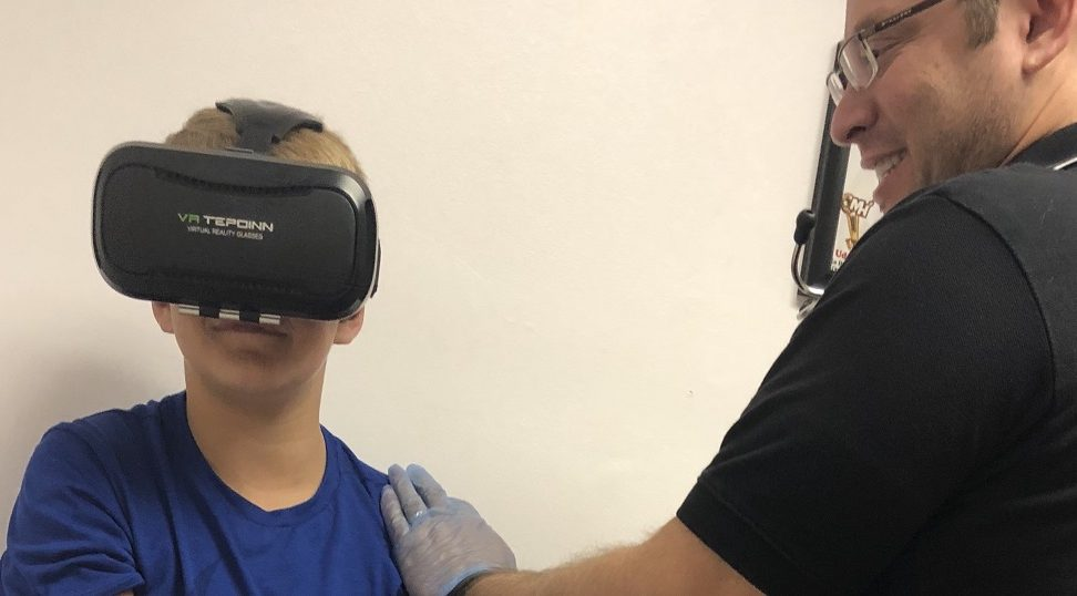 Virtual Reality Headset Reduces Fear of Needles