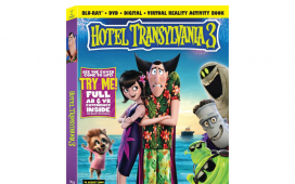 Hotel Transylvania 3 Characters, Now Available in an ARVR Interactive Book
