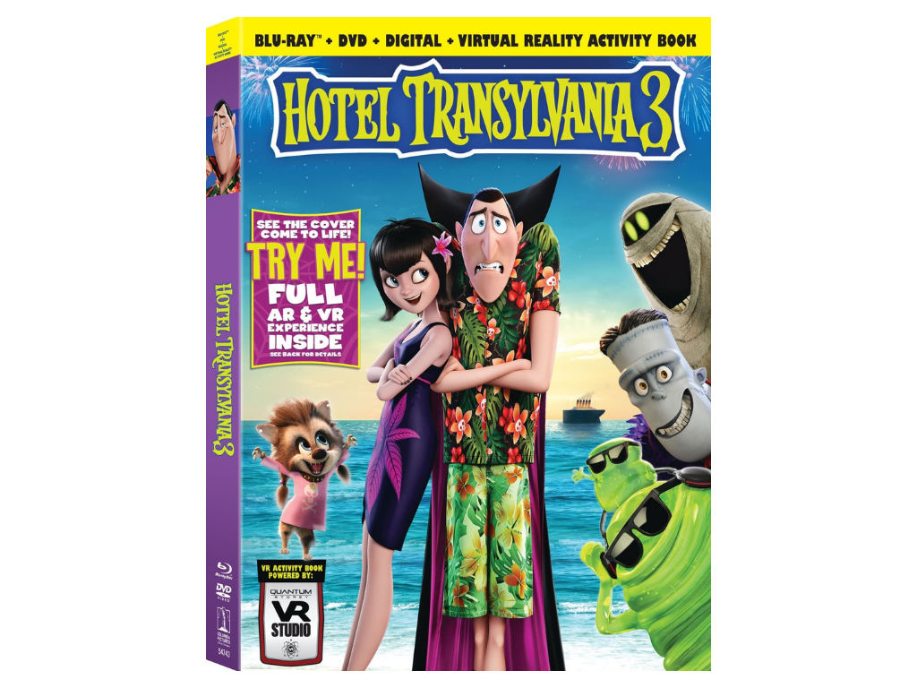 Hotel Transylvania 3 Characters Now Available in an AR/VR Interactive Book