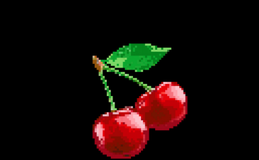 Pixe Art Illustration - Game Fruit Vector - Aliasing Effect