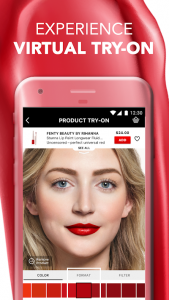 Sephora Virtual Artist augmented reality