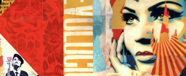 shepard fairey vr art exhibit damaged moving experience