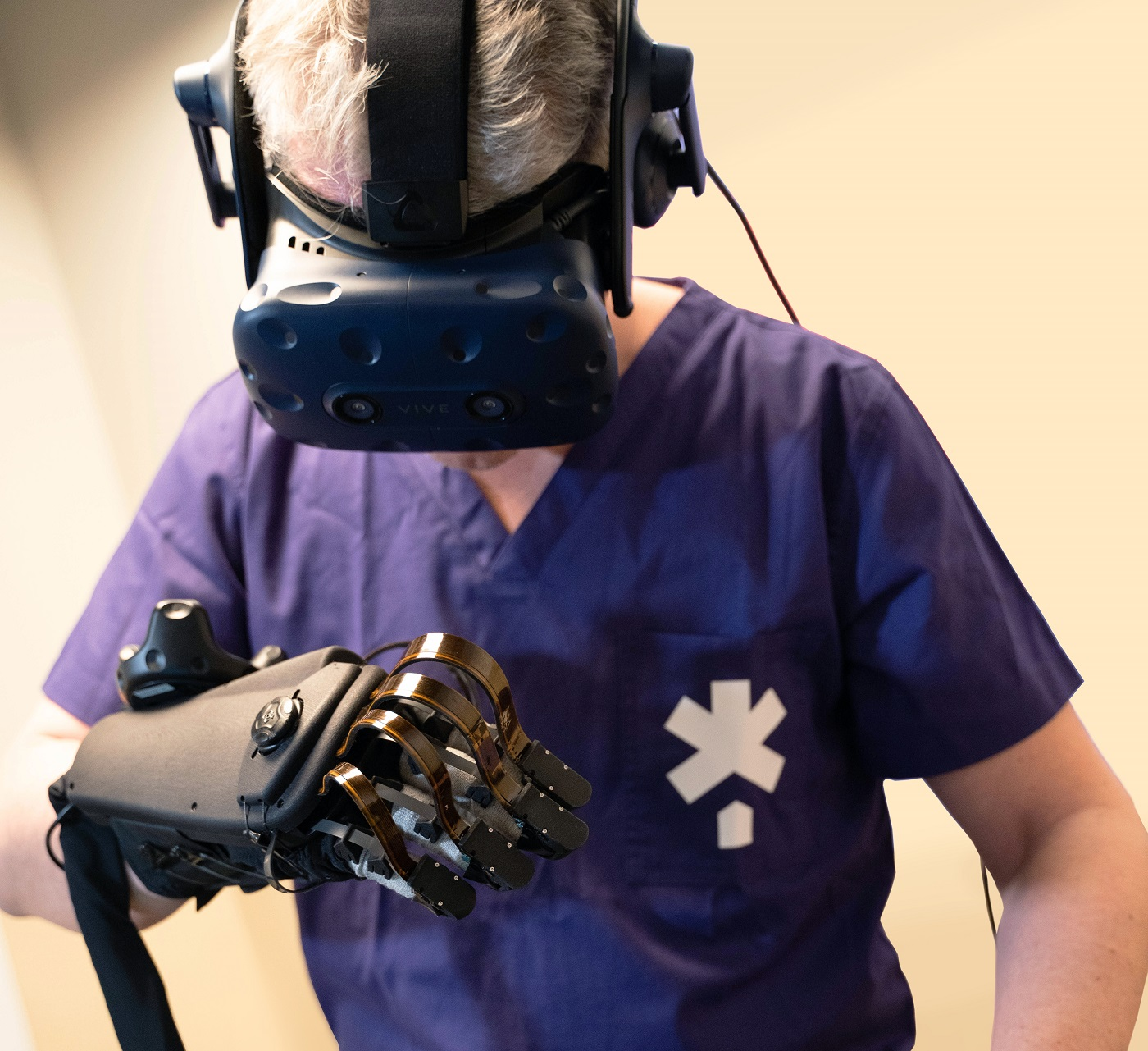 virtual reality transforming future surgical training FundamentalVR HaptX
