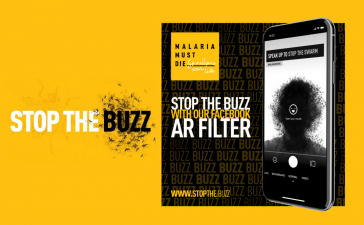 Using Augmented Reality to Fight Malaria 4 Using Augmented Reality to Fight Malaria stop the buzz AR filters
