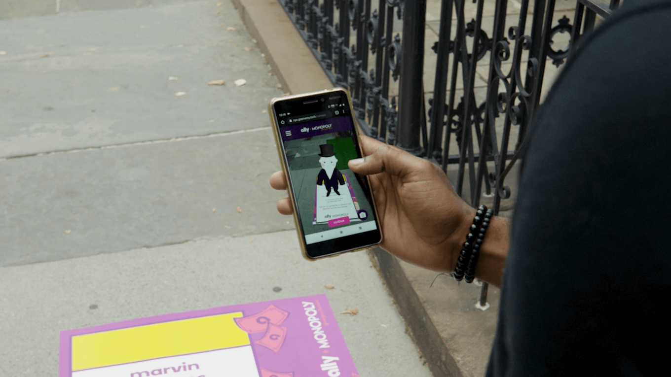 AR Game Ally + MONOPOLY® Turns Cities into Educational Gameboard