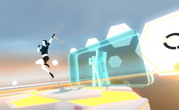 VR Game Review - OhShape Has Satisfying Rhythm & Obstacles