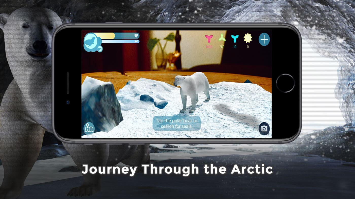 Augmented Reality Experience Raises Awareness for Polar Bears