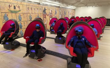 Enter the Tomb Explore King Tut's Tomb in Virtual Reality