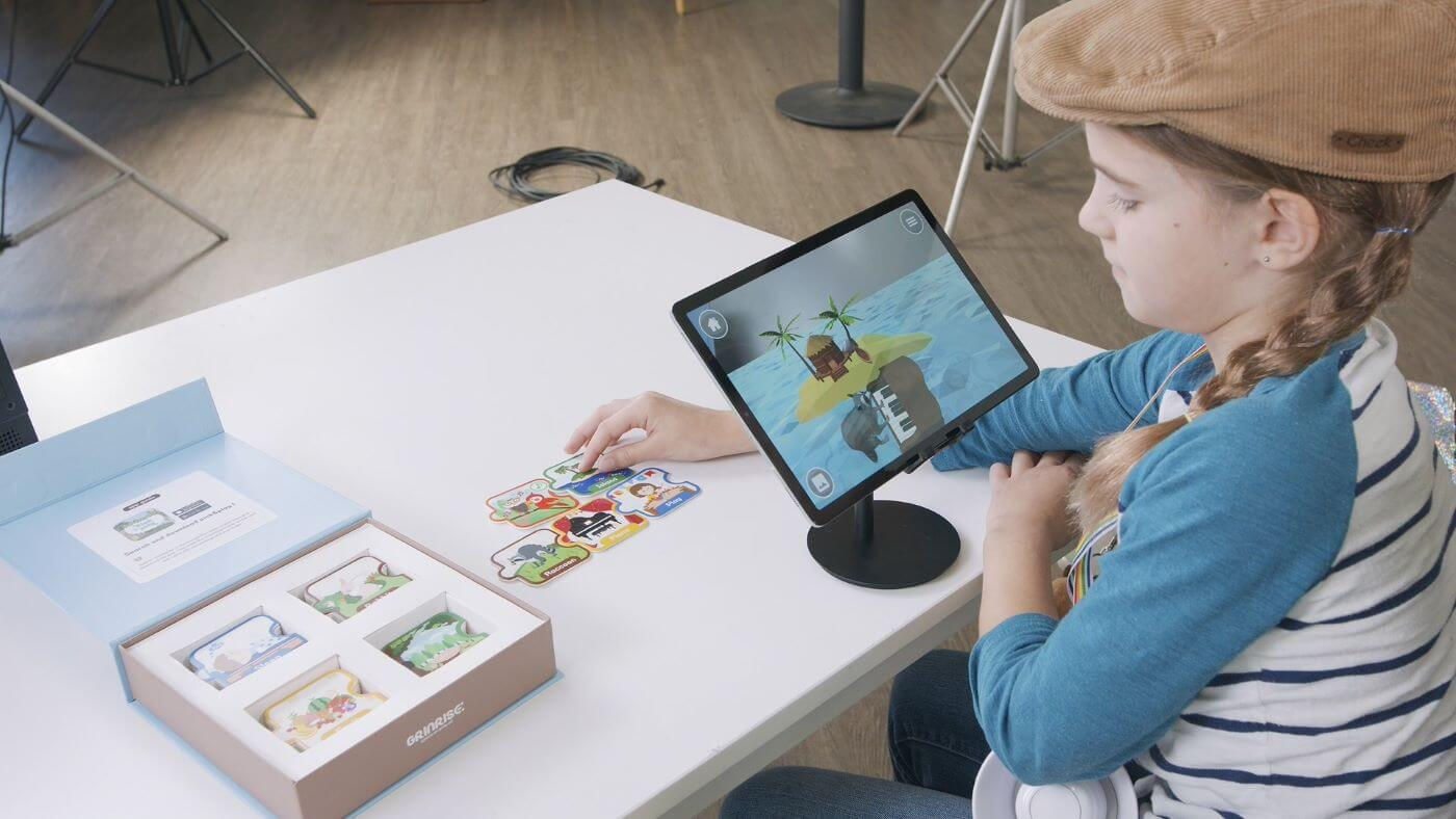 PICK&PLAY Introduces Children to AR Technology