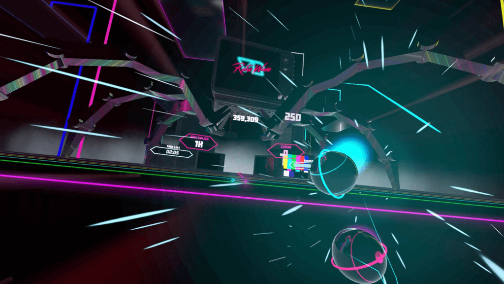 VR game Synth Riders