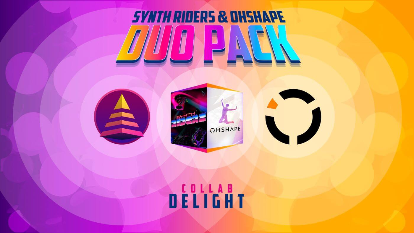 VR Games OhShape and Synth Riders Available Together for Quest