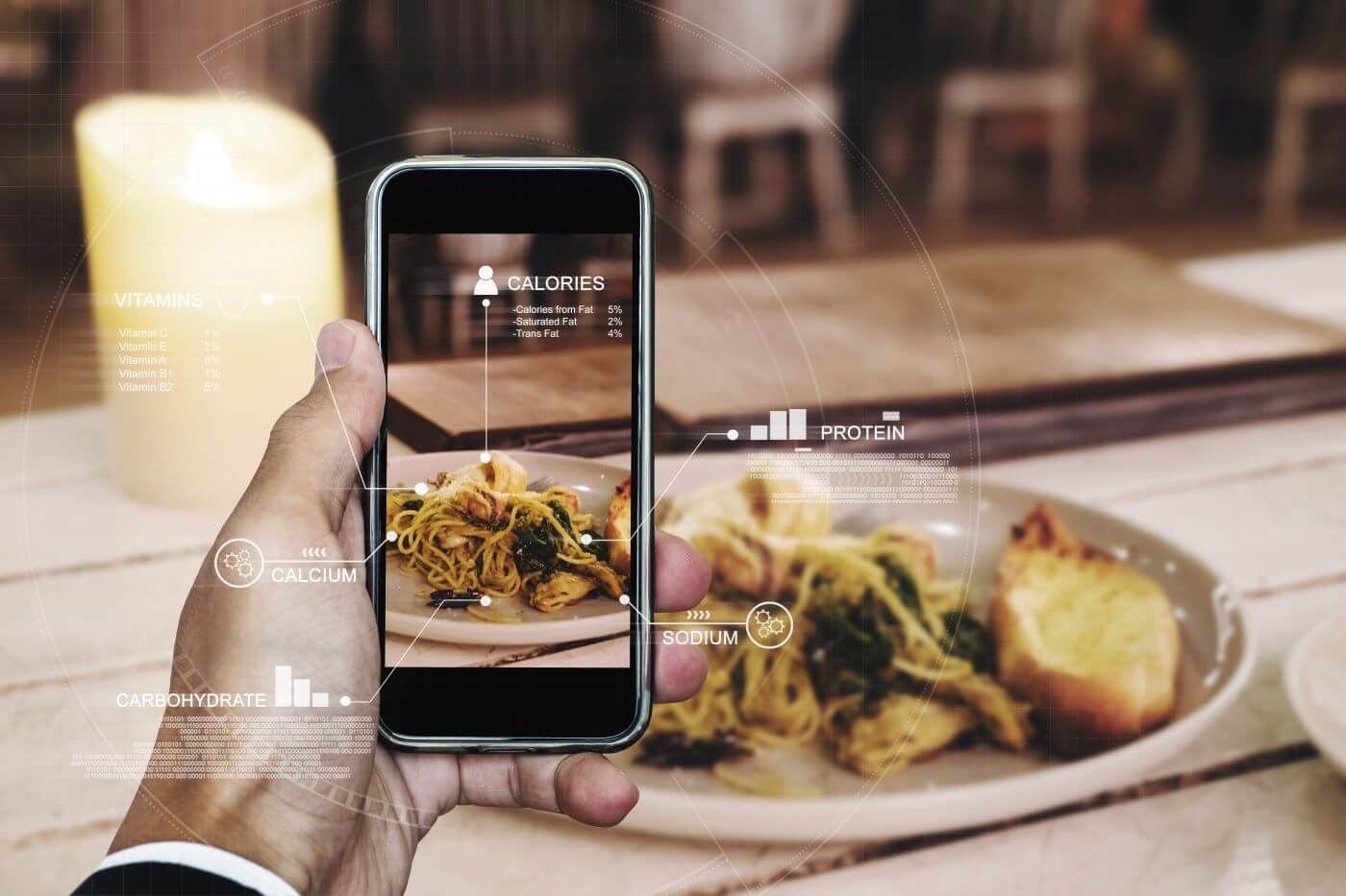 Augmented Reality and 3D Tech Changing the Food Game