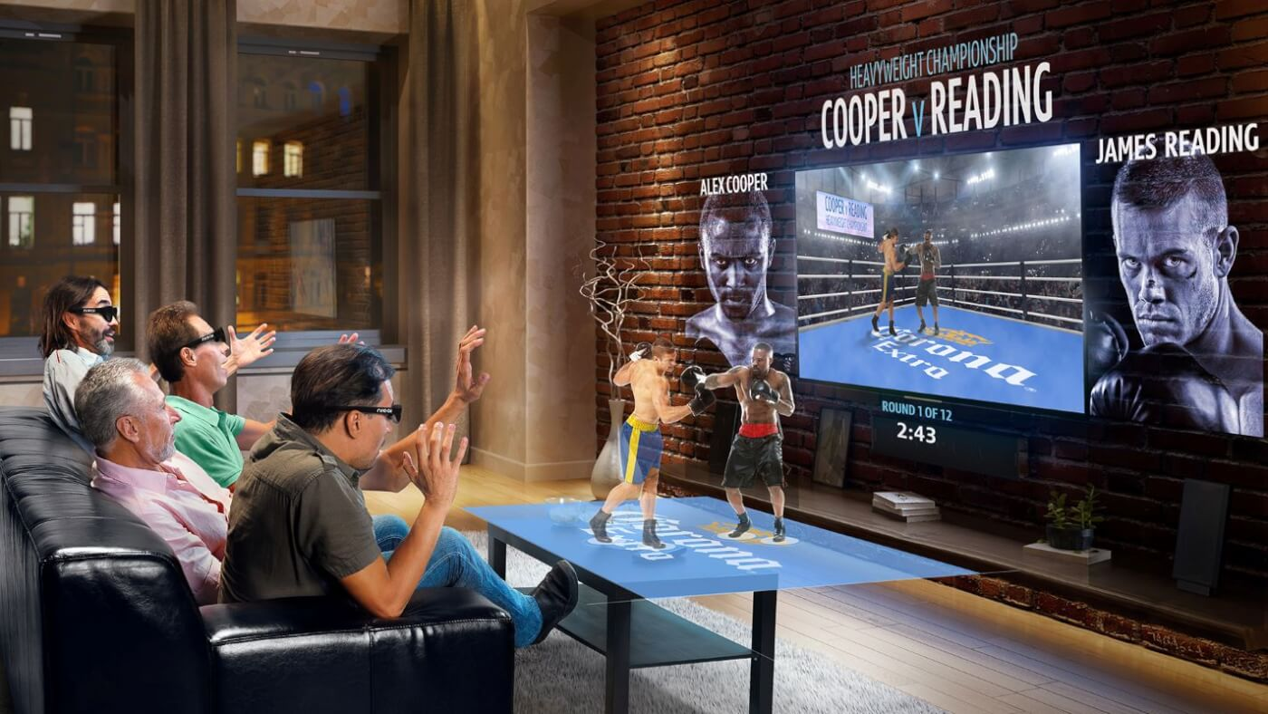 Live AR for Broadcasts and Training