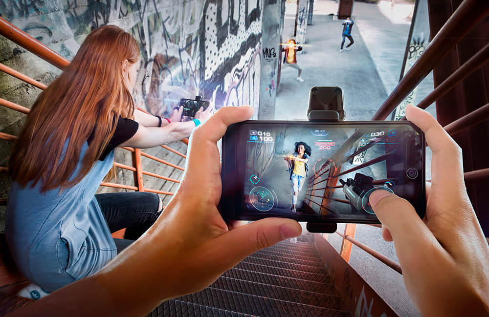 AR games in 2021 - Father.io AR game