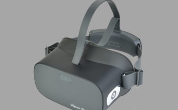 Headset Vision Buddy - television watching system